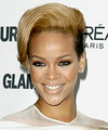 Rihanna - Short Straight Hairstyle
